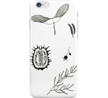 Seeds and leaves iPhone Case/Skin