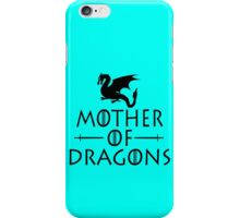 Mother of dragons geek funny nerd iPhone Case/Skin