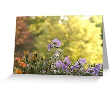 Flowers of Spring Greeting Card