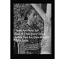 Jaden Smith #4 Tree lover Photographic Print