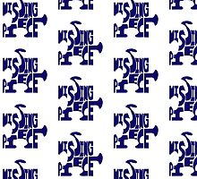 missing piece - blue by RebeccaMcGoran