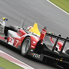 Tom Kristensen - Audi R15 TDI - Silverstone 1000km 2010 by MSport-Images