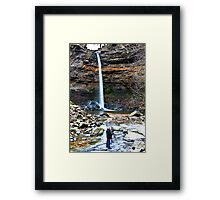 At Hardraw Force Framed Print