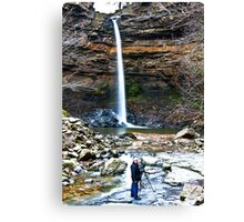 At Hardraw Force Canvas Print