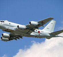 Eye In The Sky - Kawasaki P-1 by Barrie Woodward