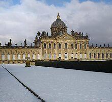 Castle Howard in the snow by Ian Midwinter