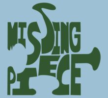 missing piece - green Kids Clothes