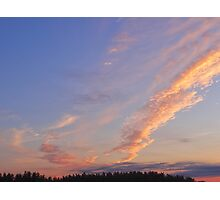 Awesome August Evening Photographic Print