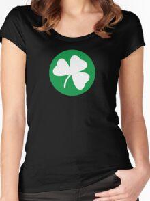 Shamrock - Boston Women's Fitted Scoop T-Shirt