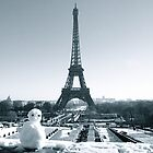 Winter in Paris by Louise Fahy