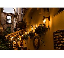 Fine Dining in Sorrento Photographic Print