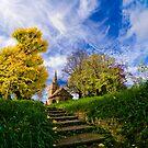 A Little Church in Cambridge by Adam Lack