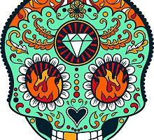 Calavera Skull XXXVII by viSion Design