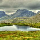 Scafell Pike from Three Tarns by Paul  Nelson