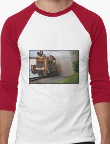 Working On The Railroad Men's Baseball ¾ T-Shirt