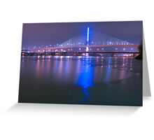 Glass City Skyway Greeting Card