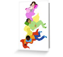 303 Pajama Party Greeting Card