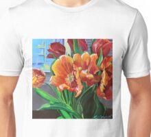 Tulips in the Window Unisex T-Shirt