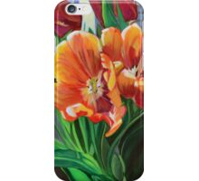 Tulips in the Window iPhone Case/Skin
