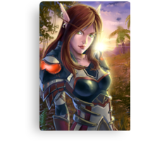 Assasin_ WoW Canvas Print