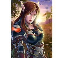 Assasin_ WoW Photographic Print