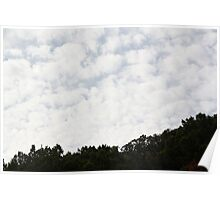 Cleburne Clouds Poster