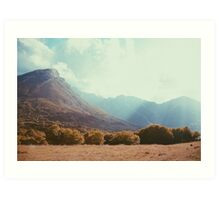 Mountains in the background V Art Print