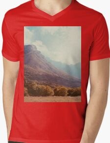 Mountains in the background V Mens V-Neck T-Shirt