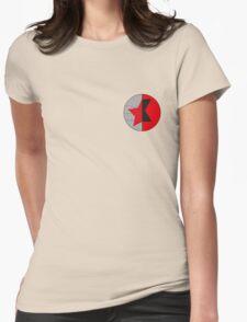 James/Natasha symbol Womens Fitted T-Shirt