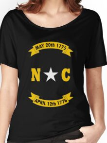 North carolina state flag geek funny nerd Women's Relaxed Fit T-Shirt