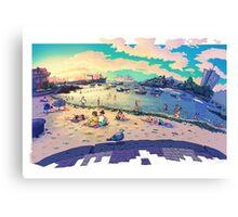 Canido Beach  Canvas Print