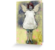Happy Fairy Greeting Card