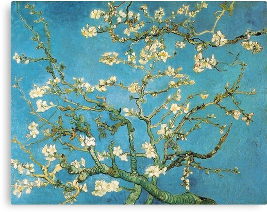Vincent van Gogh, Blossoming Almond Tree by naturematters