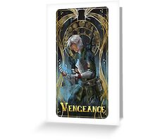 Vengeance and Fenris Greeting Card