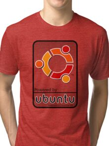 ubuntu logo  Tri-blend T-Shirt