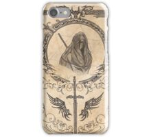 Hooded (colored) iPhone Case/Skin