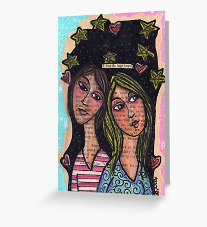 BFF Swoon Greeting Card