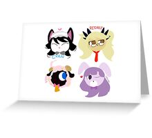 Show By Rock! Plasmagica Greeting Card