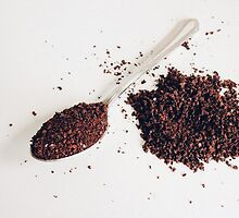 Spoon of coffee by olichel
