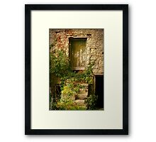 Grungy And Romantic Framed Print