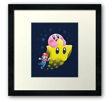 Kirby's Joyride Framed Print