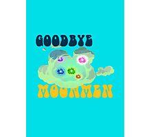 goodbye moon men- Rick and Morty Photographic Print