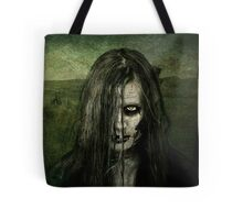 She walks the night searching for her next victim Tote Bag