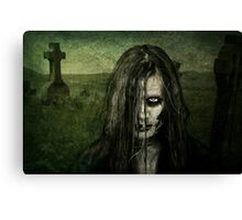 She walks the night searching for her next victim Canvas Print