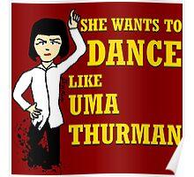 Uma Thurman Poster