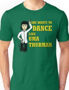 Uma Thurman Unisex T-Shirt
