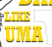 Uma Thurman Sticker