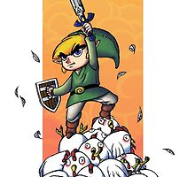 Link, Cuccoo Slayer! by SuperDeano