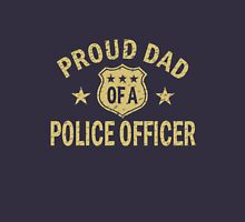 Proud dad of a police officer geek funny nerd Unisex T-Shirt