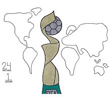 FIFA Women's World Cup Photographic Print